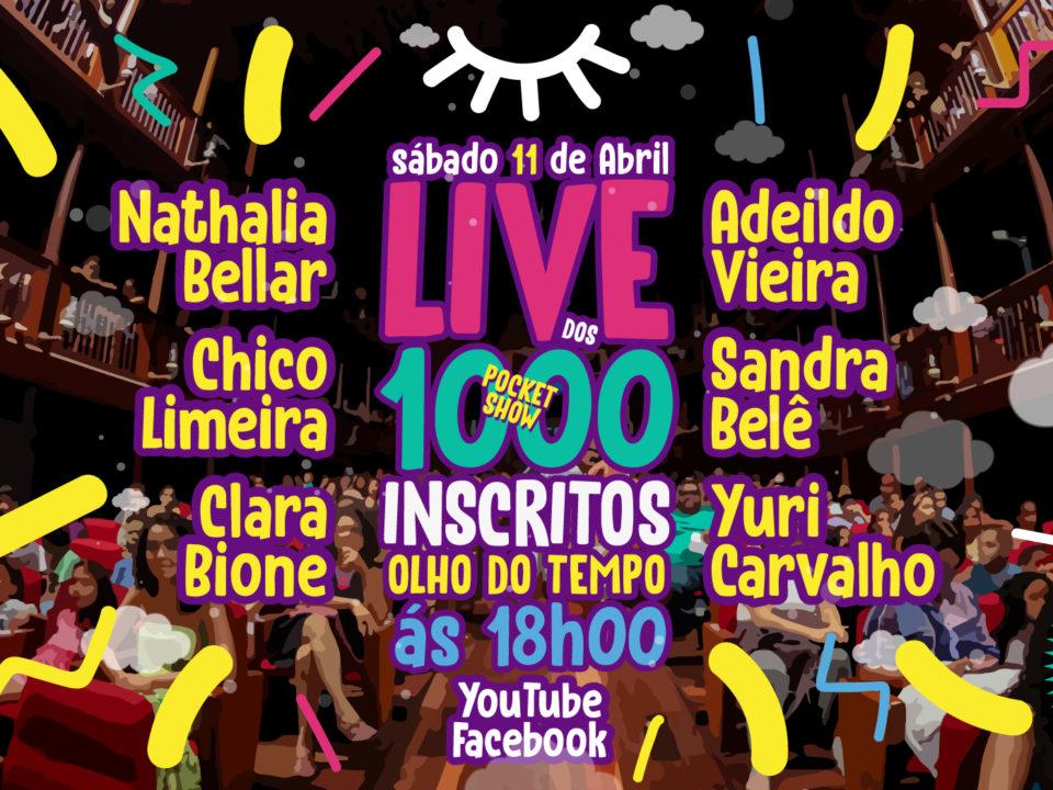 :: Live dos 1000 Inscritos Olho do Tempo ::