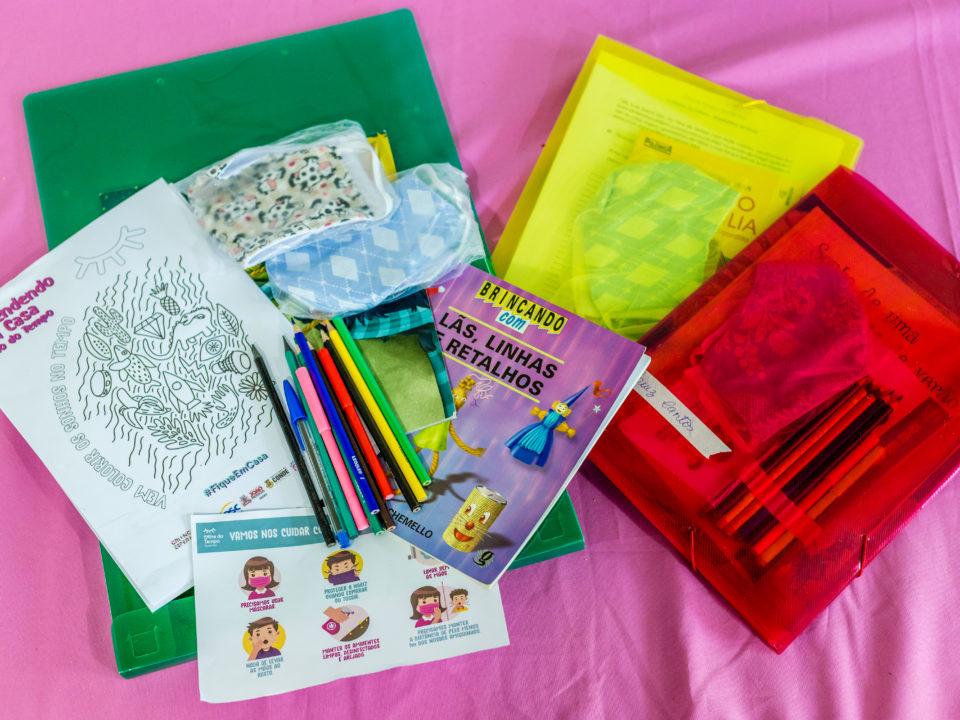 :: Entrega dos Kits Pedagógicos Olho do Tempo ::